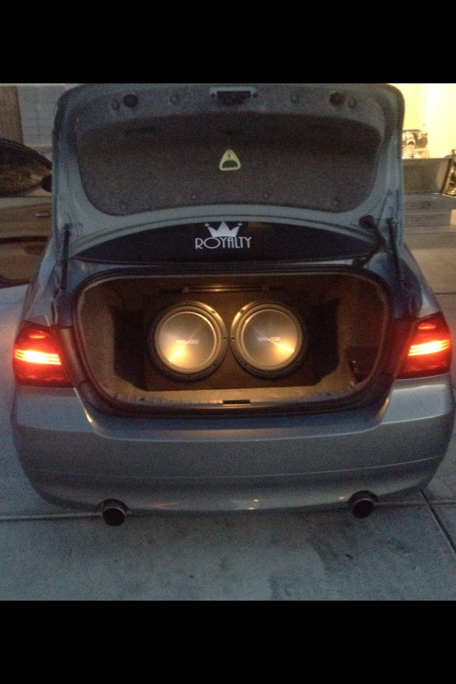 Bmw 335i Custom Sound System