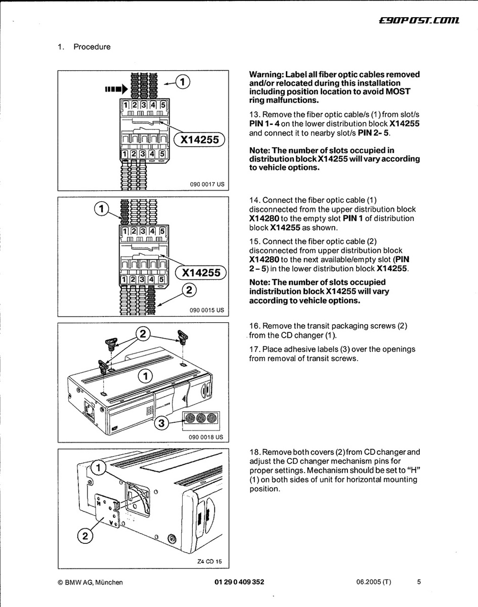 diy oem cd changer installation instructions. Black Bedroom Furniture Sets. Home Design Ideas
