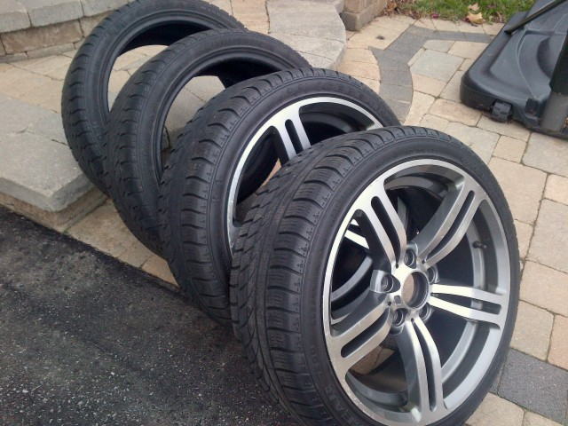 fs 4 used hankook w300 icebear 225 40 r18 92v tires. Black Bedroom Furniture Sets. Home Design Ideas