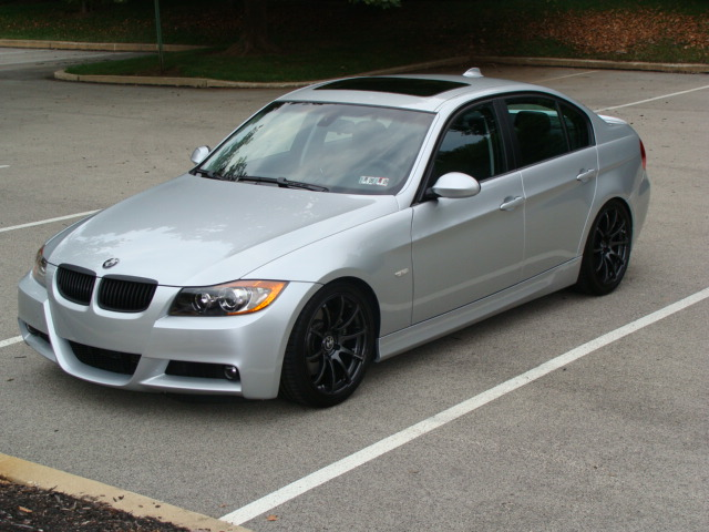 Pic Request 335i Tit Silver With Black Or Chrome Rims