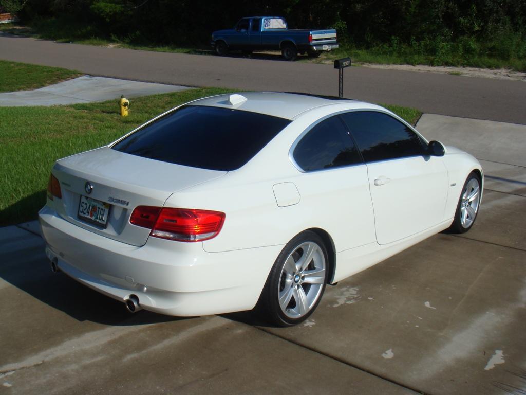 Alpine White 2007 Bmw 335i Coupe W 6 Spd Black Int Alum