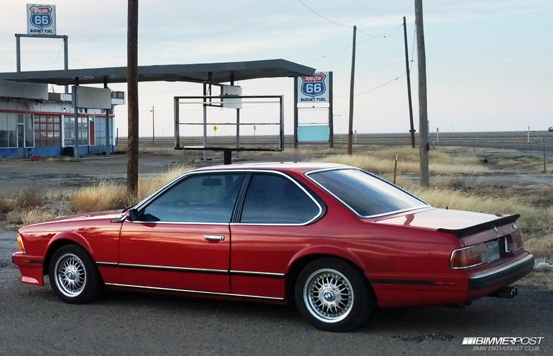 SharkBaits 1988 BMW M6 E24  BIMMERPOST Garage