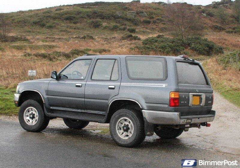 Soyank S 1995 Toyota 4runner 4 Door Sr5 Quot Thor Quot Scrapped