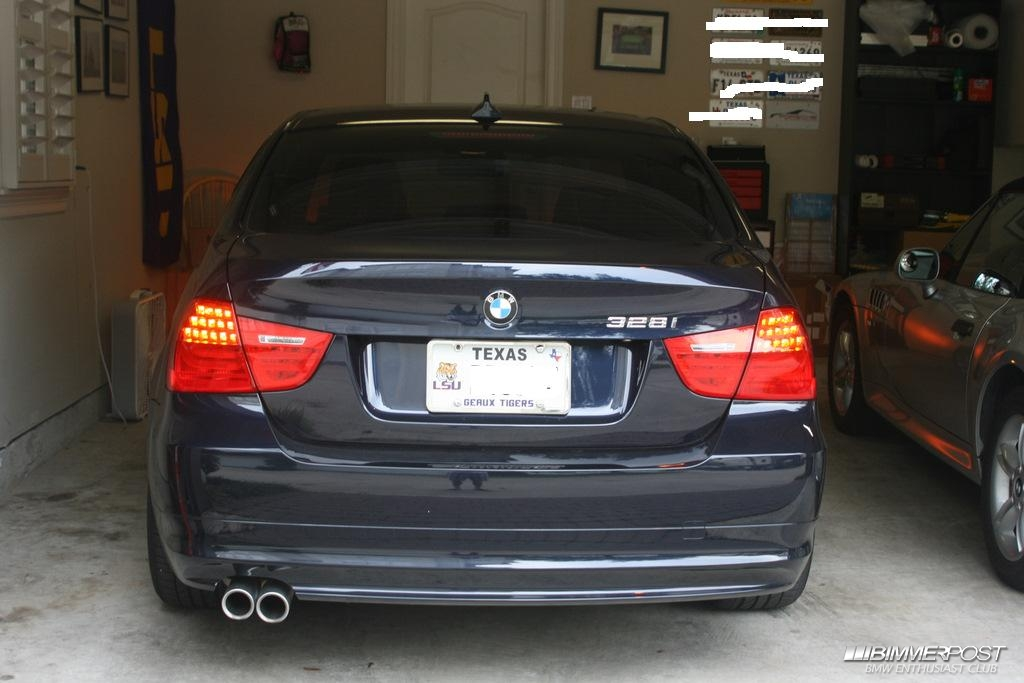 09 E90 Euro Tail Lights Plug And Play Or Rewire