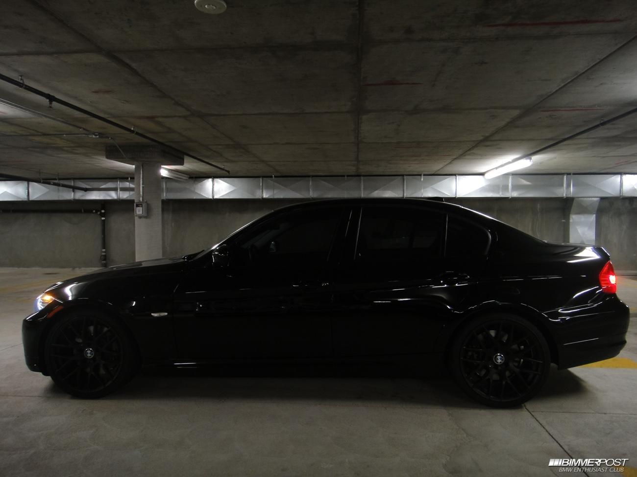 Black Out My Jet Black E90 335xi Need Advice