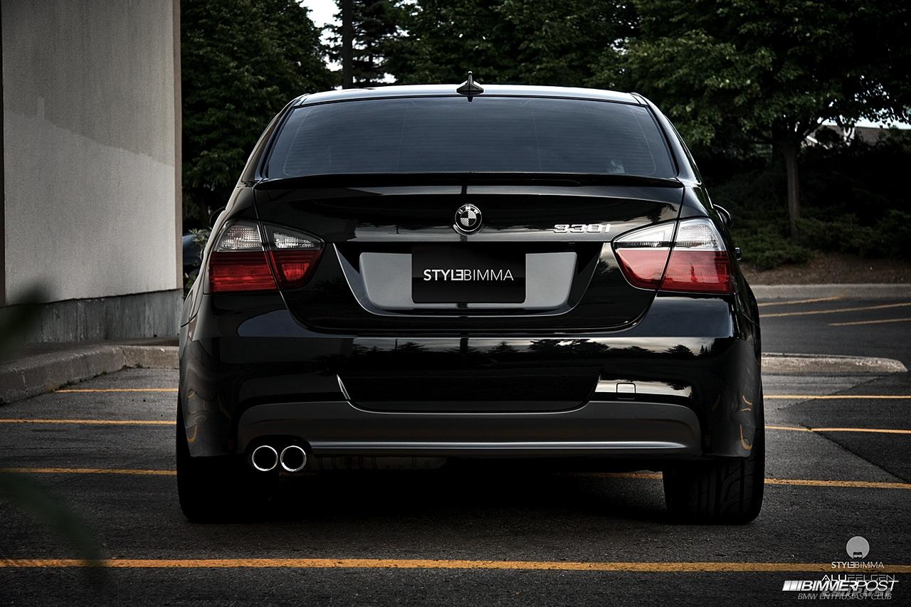 StyleBimma's E90 BMW 330i ZSP - BIMMERPOST Garage