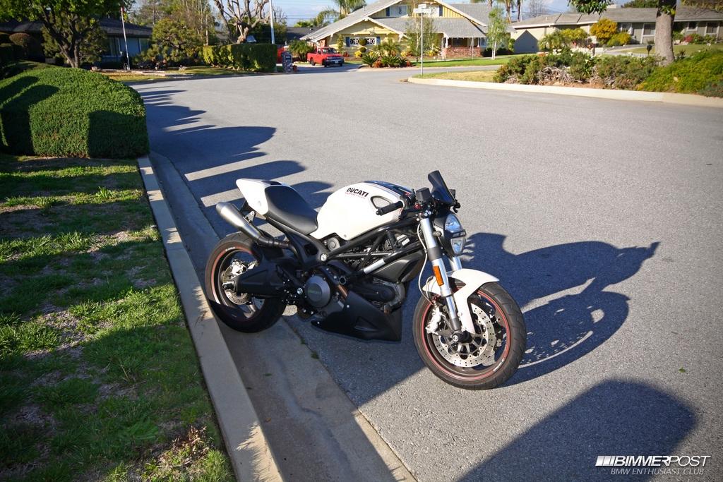 L4zy S 2009 Ducati Monster 696 Bimmerpost Garage