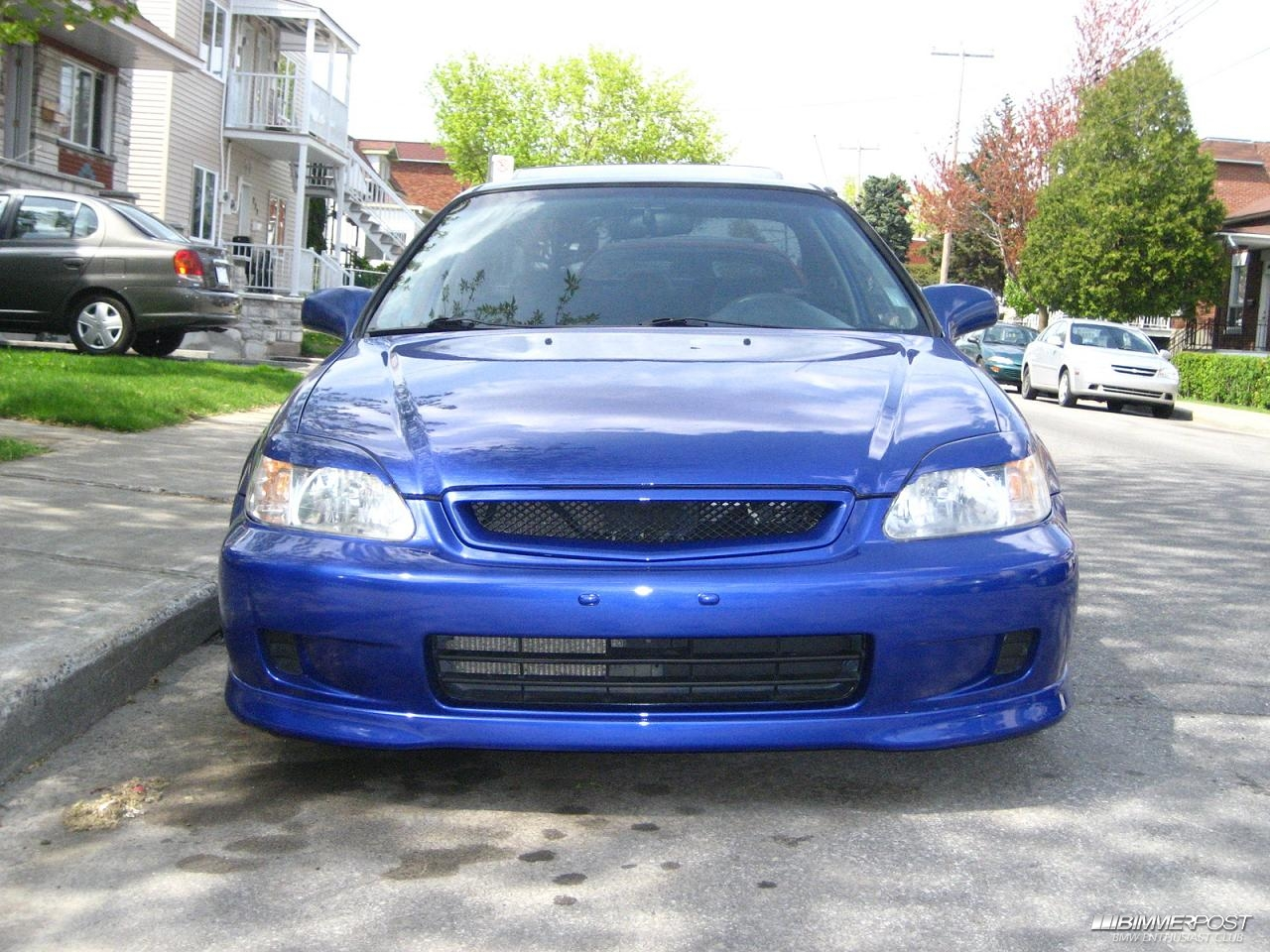 Kevco's 2000 Honda Civic SI - BIMMERPOST Garage