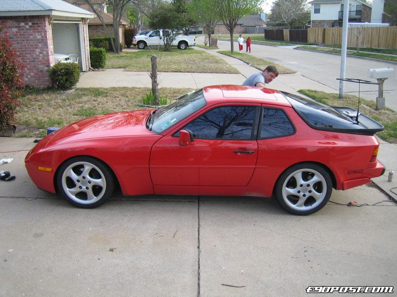 Danny S 1987 Porsche 944 Turbo Bimmerpost Garage