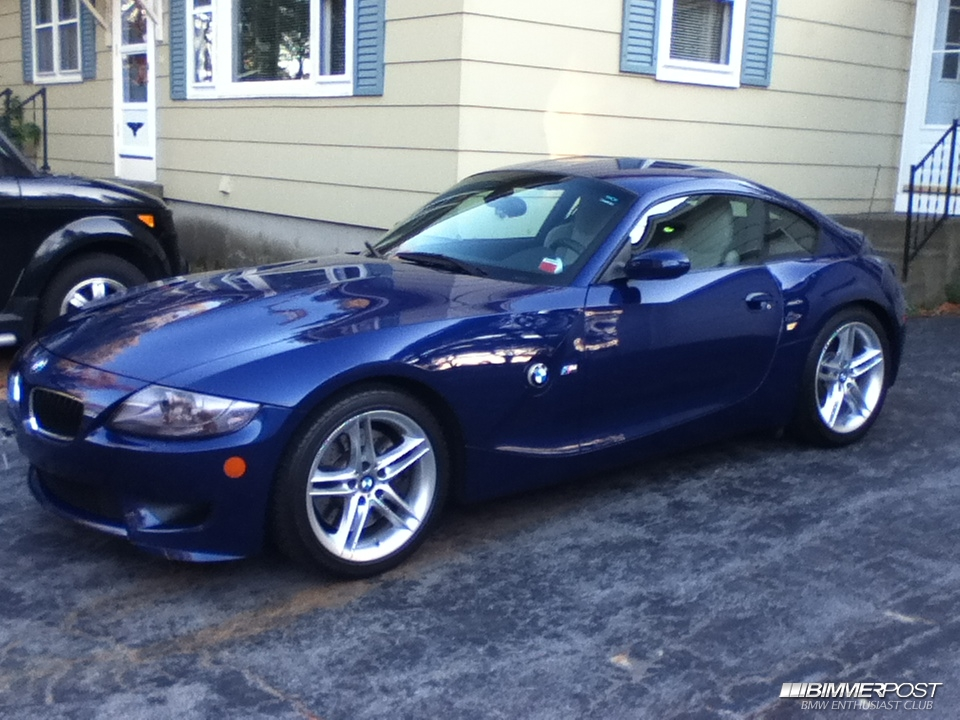 Shota15 S 2007 Bmw Z4 M Coupe Bimmerpost Garage