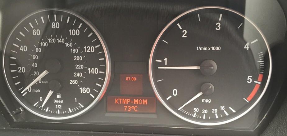 High (110C+) engine and coolant temp - BMW 3-Series (E90 E92