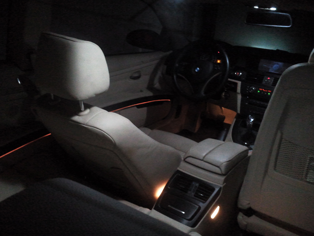 DIY: E92 Ambient Lighting upgrade using EL wire
