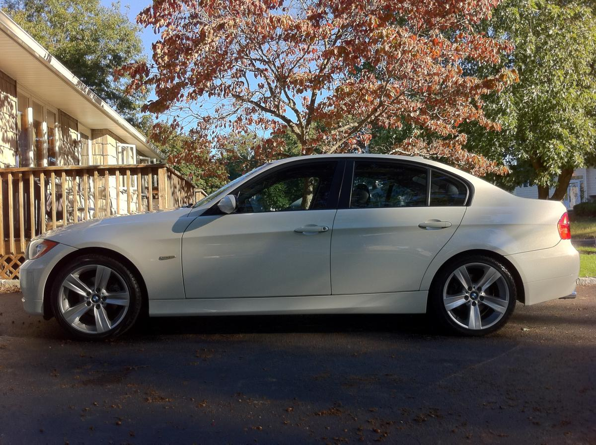 What A Change Installed S On Xi - 2009 bmw 325xi
