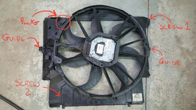 Bmw Columbus Ohio >> DIY: Radiator Fan Removal - 335xi
