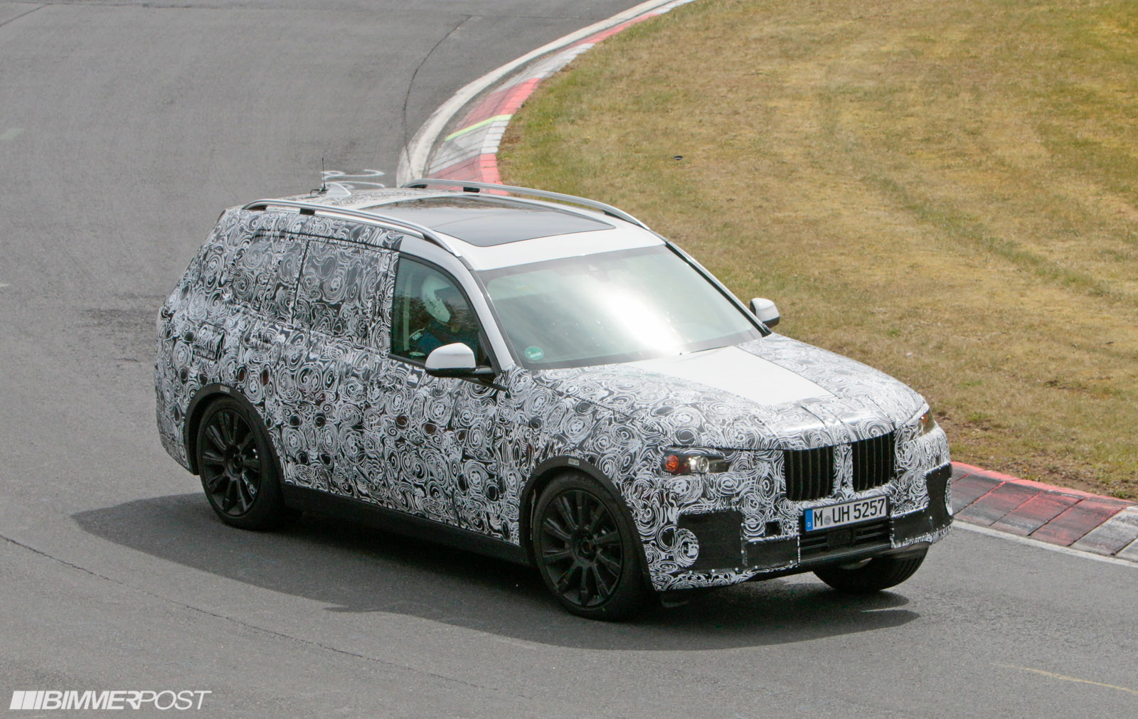 Bmw X7 Prototype Finally Emerges Spy Photo And Video