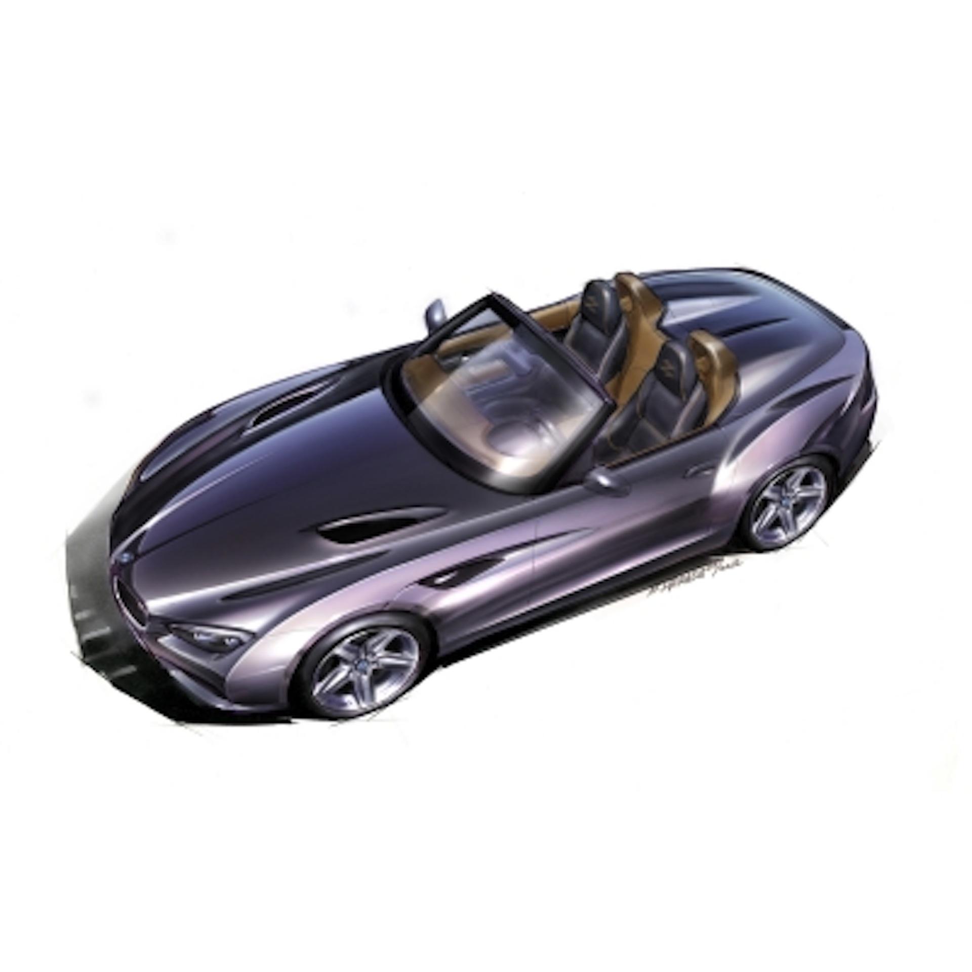 Bmw Zagato Roadster: BMW Unveils Zagato Roadster